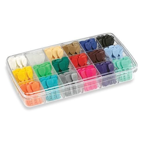 elastomerics mini o tie assorted kit