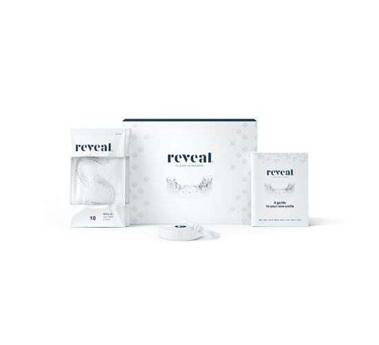 Reveal Aligners packaging